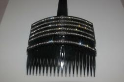 1 New Gorgeous Hair Comb with Shinny Crystals Hair Jewelry A