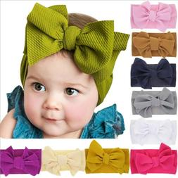 10 Pcs Kids Girl Baby Headband Toddler Lace Bow Flower Hair
