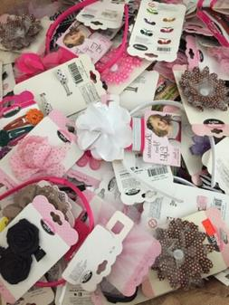 100 PC Wholesale Lot Hair Accessories Jewelry Makeup. MSRP $