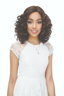100% HUMAN HAIR BLEND BRAZILIAN SCENT LACE WIG - JANET COLLE