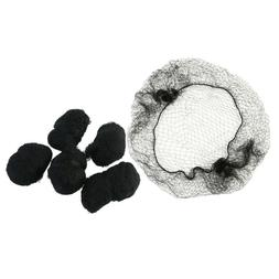 100pcs hair nets breathable invisible bun cover