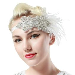 BABEYOND 1920s Headband Flapper Headbands 1920s Great Gatsby