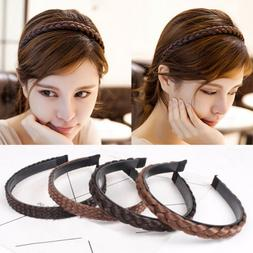 1pc synthetic hair braided hair hoop wig