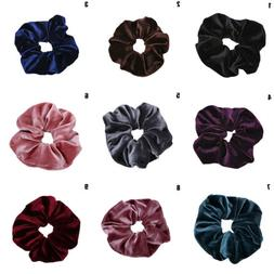 1xHair Scrunchie Ponytail Holder Rope Elastic Hair Accessori