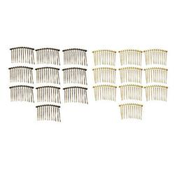 20x Blank Side Comb DIY Wedding Hair Accessories Jewelry Mak