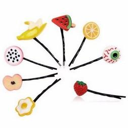 2Pcs Cute Fashion Hairpin For Hair Clip Accessories Fruit &
