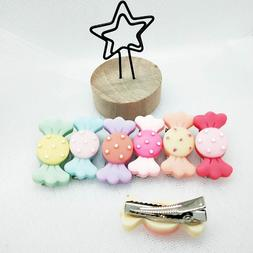 3pcs Cute candy hairpin puppy <font><b>hair</b></font> clip