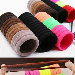 50Pcs Women Girls Hair Band Ties Rope Ring Elastic Hairband