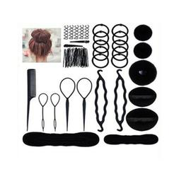 71pcs/set Hair Accessories Styling Clip Bun Maker Hair Twist