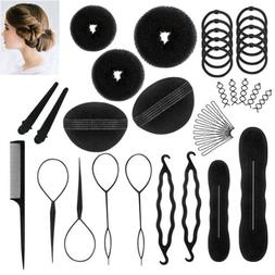 71Pcs/Set Hair Styling Accessories Clip Bun Maker Hair Twist
