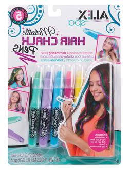 ALEX Toys Spa 5 Metallic Hair Chalk Pens