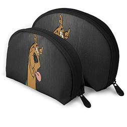 Makeup Bag Tongue Cute Puppy Handy Shell Travel Bags Storage