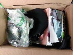 Brand name hair accessories, mixed lot of customer returns.