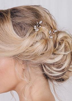 FXmimior 3 PCS Bridal Women Vintage Wedding Party Hair Pins