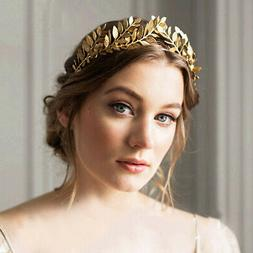Bride Hair Accessories Laurel Crown Headpiece Tiara Girls Wo