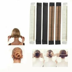 Bun & Crown Shapers  Hair Styling Disk Donut Bun Maker Fashi