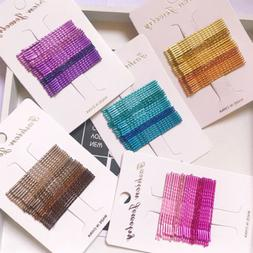 Candy Color Hair Clips Bobby Pins Accessories Wavy Hairpins