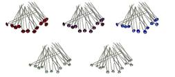 Deal Dz Pk Bella Hair Sticks Hairpins Small Crystal Solitair