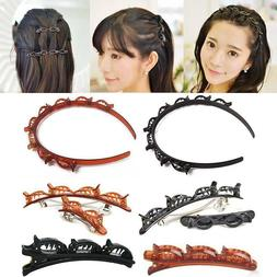 Double Bangs Hairstyle Hairpin Hair Accessories Hair Clips