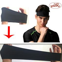 Elastic Sports Headband For Both Genders Outdoor Sports Swea