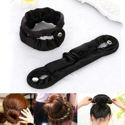 Fashion Magic Hair Styling Donut Former Foam French Twist Bu