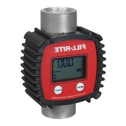 FILLRITE FR1118A10 InLine Turbine Meter,3 to 26gpm,1in NPT G