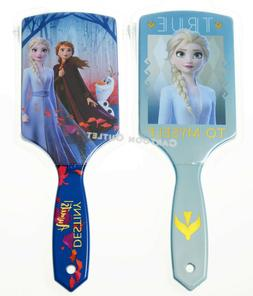 FROZEN GIRLS PADDLE LARGE HAIR BRUSH ELSA ANNA PRINCESS KIDS