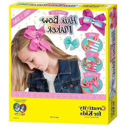 Girls Hair Bow Headband Sparkling Hair Kits Make Your Own Fa