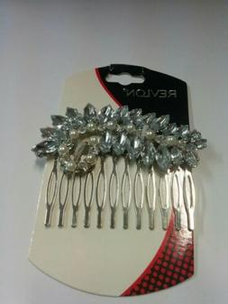 Revlon Hair Accents Bejeweled Hair Side Comb