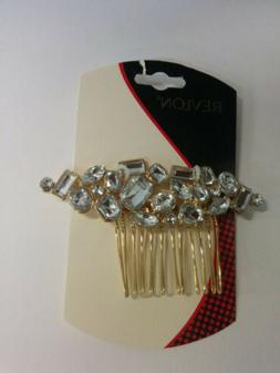 Revlon Hair Accents Hair Side Comb with Embellishments