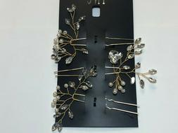 hair accessories gold tone new over stock