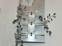 INC Hair Accessories Silver Tone New Over Stock With Tags