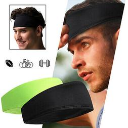 hair head band sweatband headband stretch mens