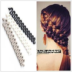 3Pcs  Women Hair Styling Clip DIY French Hair Braiding Tool