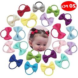 Baby Hair Ties Bows Kids Hair Tie Head Bands Ropes Hair Elas