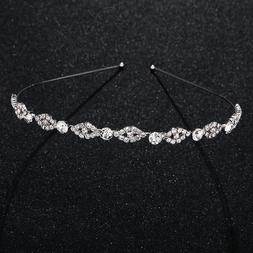 Headband Wedding Crystal Tiara Headdress Women Wedding Hair