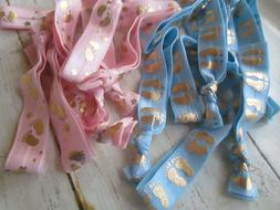 Is a boy or a girl? 20 Gender reveal party hair ties or brce