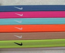Nike Jacquard Sport Headbands Hairbands Assorted 6 Pack Indi