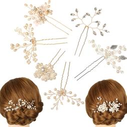 Jewelry Accessories Hairpins Bridal Clips Pearl Hair Pin  Br