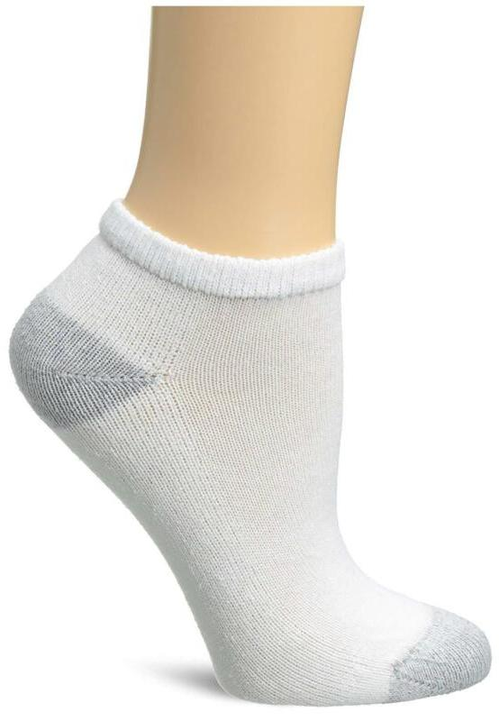 10 Pack Cushioned Women'S Athletic Socks Low Cut Size 5 9 Wh
