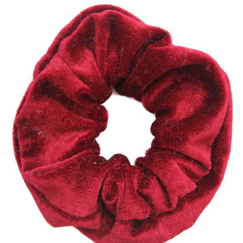 50Packs Women Hair Velvet Scrunchy