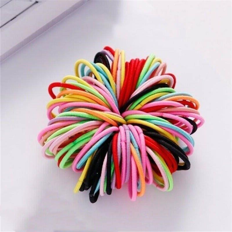 100Pcs Colorful Rope Round Sewing US