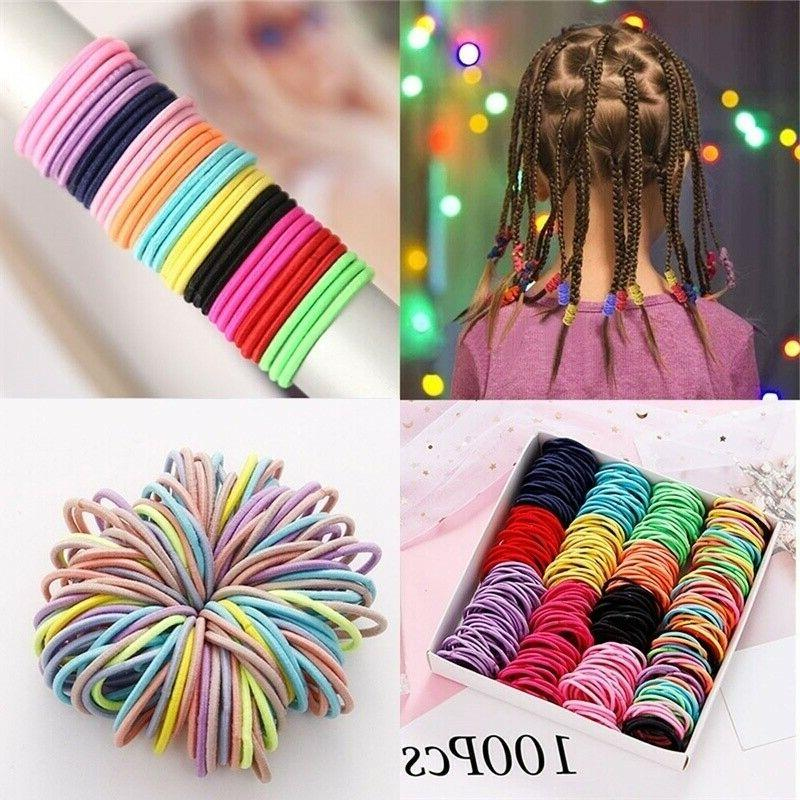 100Pcs Colorful Rope Band Sewing Accessories