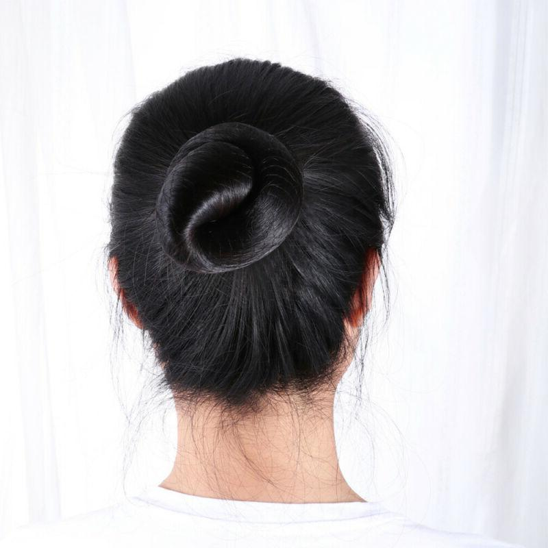 PIXNOR Hair Lightweight Invisible Bun for Skaters