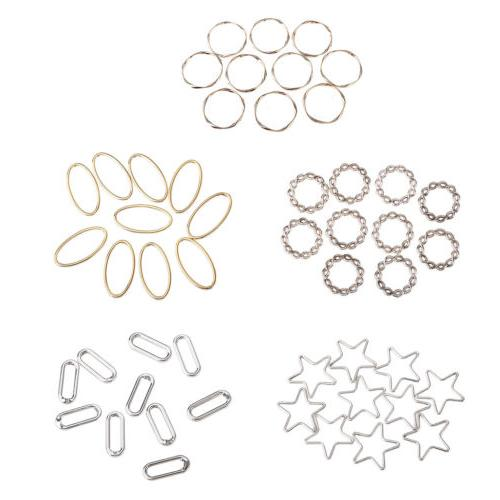 10x alloy ring diy hair accessories earring