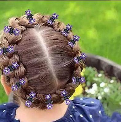 12Pcs Mini Hair Clips Accessories For Kids Girls