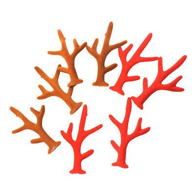 16pcs Reindeer Making Finding For Hair Accessory Earrings