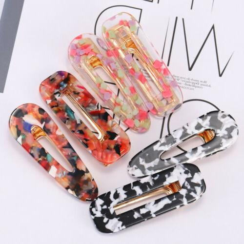 1PC Acrylic Clip Colorful Hair Accessories