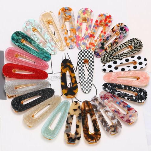 1pc acrylic alligator hair clip colorful hairpin