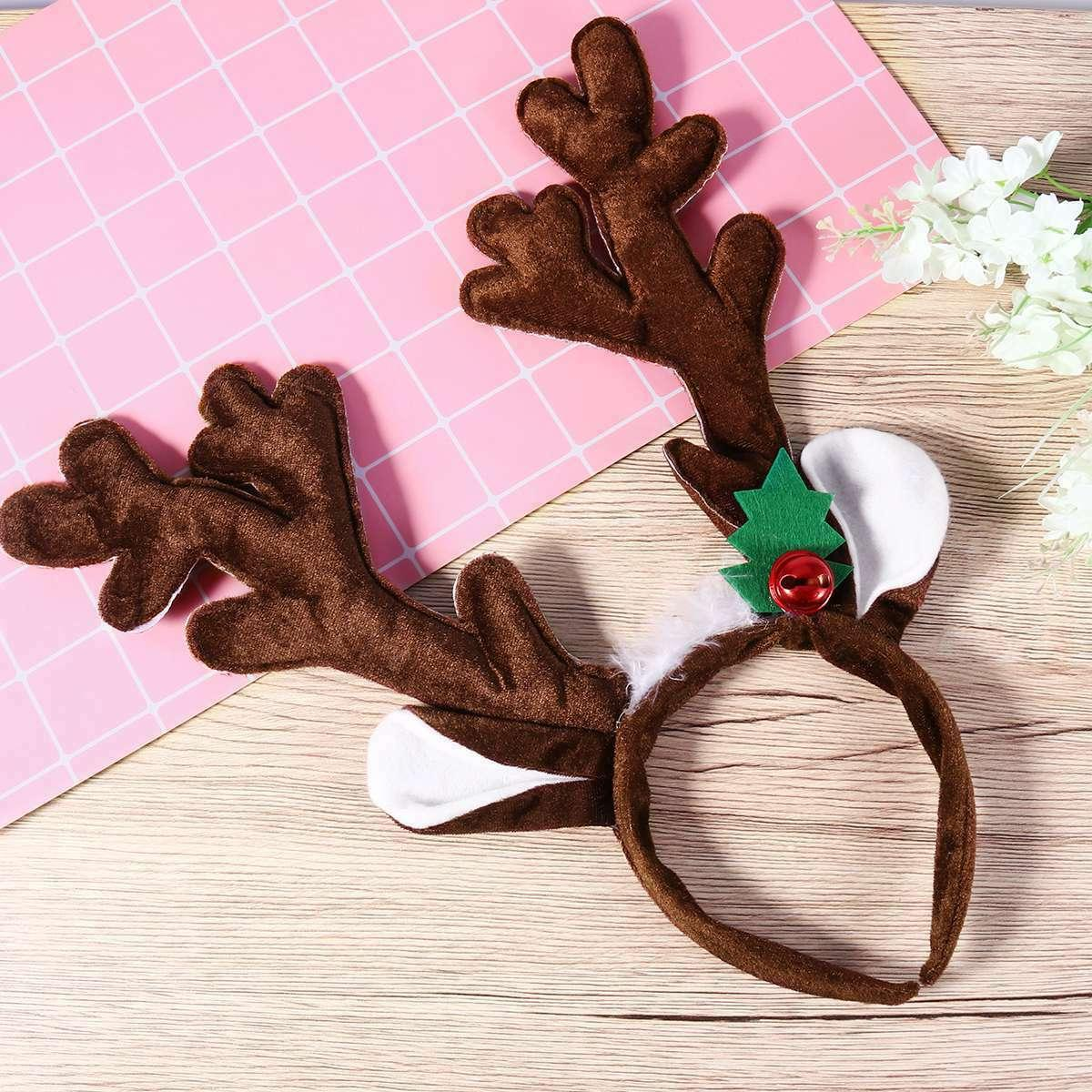 PIXNOR 1PC Beautiful Hair Hoop Christmas